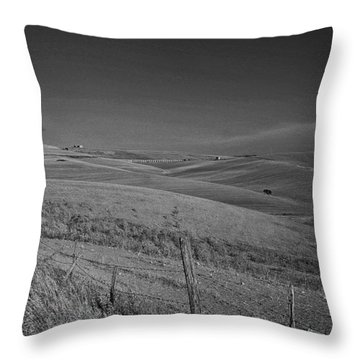 Tarquinia Landscape Campaign Throw Pillow