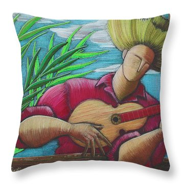 Cancion Para Mi Tierra Throw Pillow