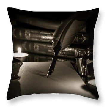 Candlelight Fantasia Throw Pillow