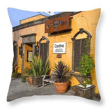 Cantina Throw Pillow