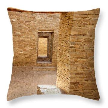 Chaco Canyon Throw Pillow by Steven Ralser