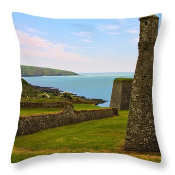 Charles Fort Kinsale Throw Pillow