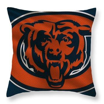 Chicago Bears Uniform Throw Pillow