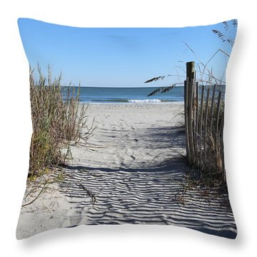 Life Is About Choice  Throw Pillow