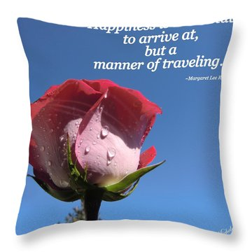 Choose Your Quote Choose Your Picture 23 Throw Pillow