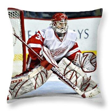 Chris Osgood Throw Pillow
