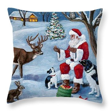 Christmas Treats Throw Pillow