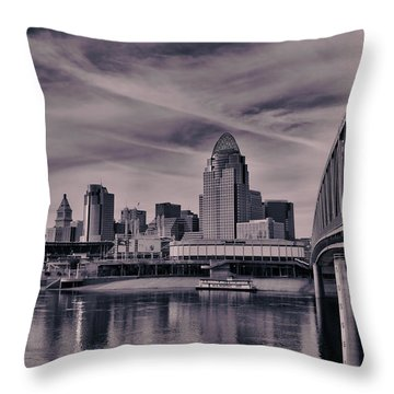 Cincinnati Throw Pillow