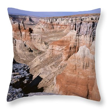 Coal Mine Canyon 1 Throw Pillow