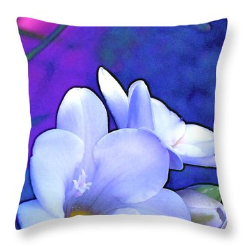 Color 4 Throw Pillow