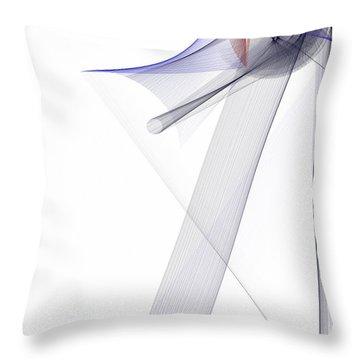 Color Symphony Throw Pillow by Rafael Salazar