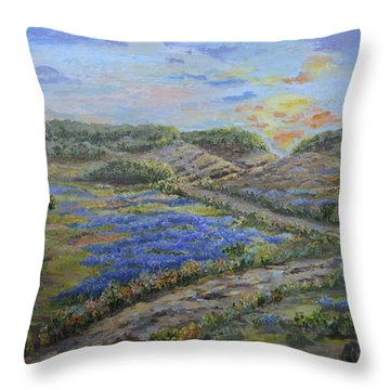 Comanche Peak Throw Pillow