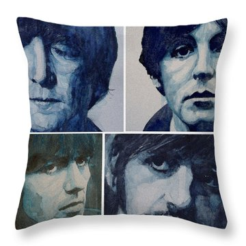 John Lennon Throw Pillows