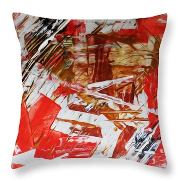 Comission 23 Uplifting Behaviour Throw Pillow