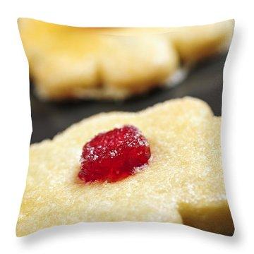 Cookies Throw Pillow by Elena Elisseeva