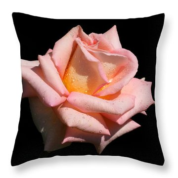 Throw Pillow featuring the photograph Coralie by Doug Norkum