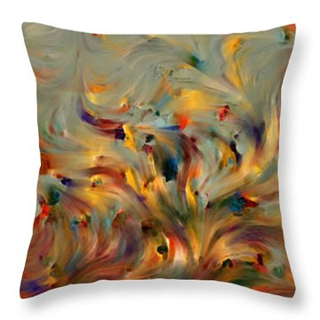 2 Corinthians 5 7. Faith- Not Emotion Throw Pillow by Mark Lawrence