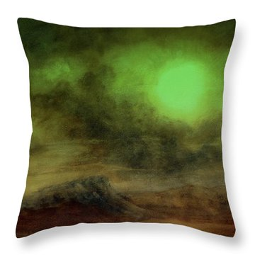 Cosmic Light Series Throw Pillow by Len Sodenkamp
