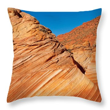 Coyote Buttes Throw Pillow
