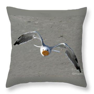 Cracker Snatcher Throw Pillow