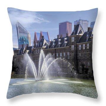 Den Haag Throw Pillow by Joana Kruse