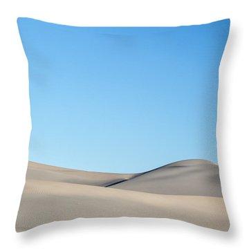Desert Calm Throw Pillow by Jon Glaser
