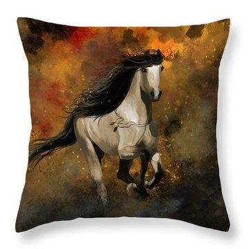 Devotion Throw Pillow by Kate Black