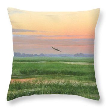Divine Whisper Throw Pillow
