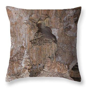 Dolls Theater Carlsbad Caverns National Park Throw Pillow
