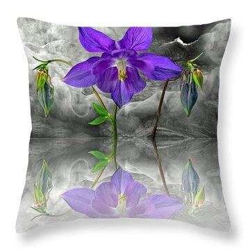 Dream Throw Pillow by Manfred Lutzius