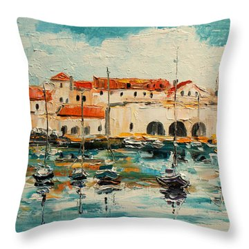 Dubrovnik - Croatia Throw Pillow