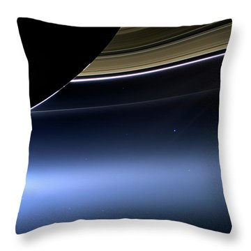 Saturn Throw Pillows