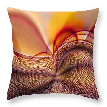 Earth Birth Throw Pillow
