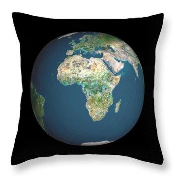 Equatorial Africa Throw Pillows