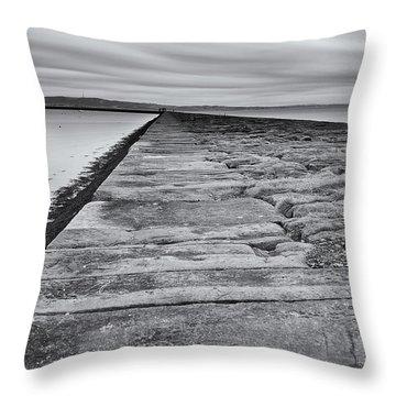 Eastern Causeway Throw Pillow