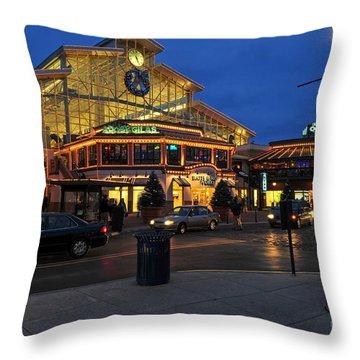D65l-120 Easton Town Center Photo Throw Pillow