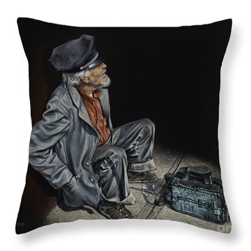 Empty Pockets Throw Pillow