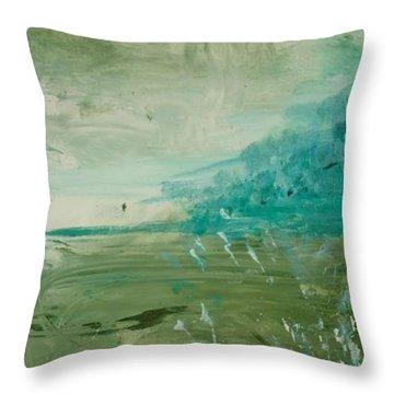 Everglades I Throw Pillow