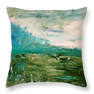 Everglades II Throw Pillow