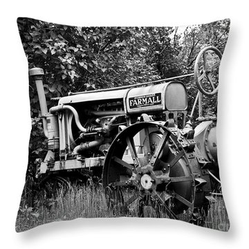 Farmall Throw Pillow by Alana Ranney