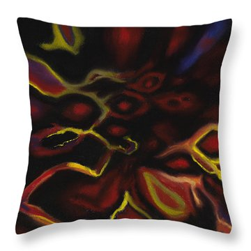 Fiamma Dell'anima Throw Pillow