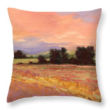 Field Glory Throw Pillow