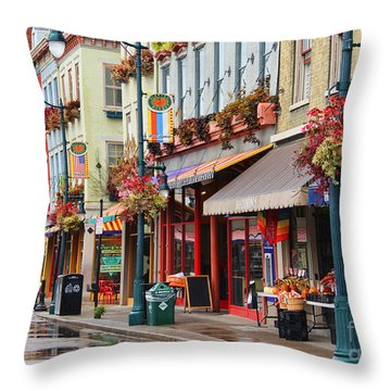 Findlay Market In Cincinnati 0009 Throw Pillow