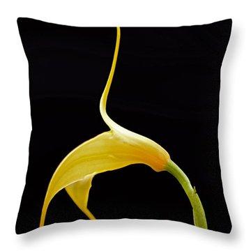 Floral Dancer Throw Pillow