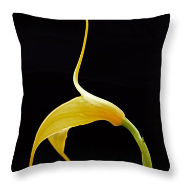 Floral Dancer Throw Pillow