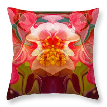 Flower Child Throw Pillow