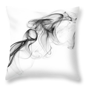 Fluidity No. 1 Throw Pillow