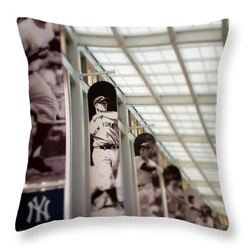 Focus On The Iron Horse Throw Pillow