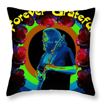Throw Pillow featuring the photograph Forever Grateful by Ben Upham III
