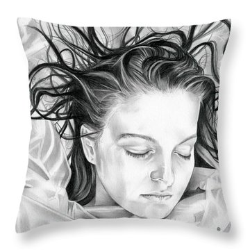 Forget Me Not - Laura Palmer - Twin Peaks Throw Pillow